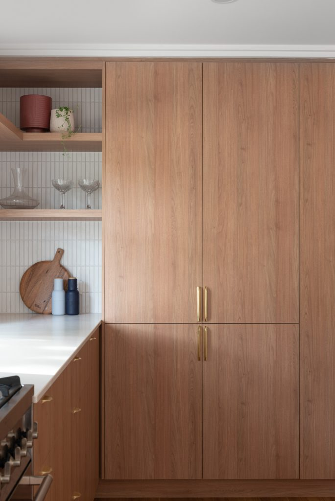 custom designed and created kitchen cabinets