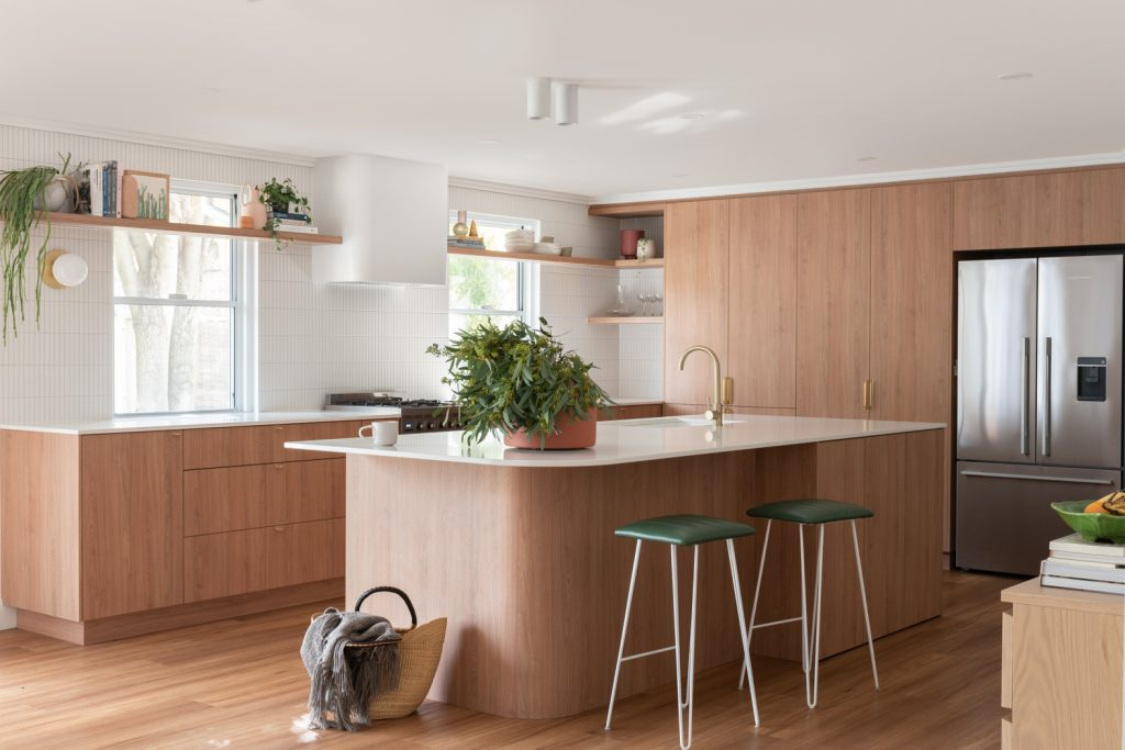 custom designed wood kitchen