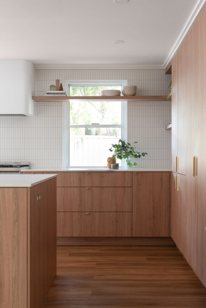 custom kitchen cabinet constructed in Perth